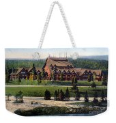 Old Faithful Inn Yellowstone Np 1928 Weekender Tote Bag