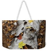 Old Fallen Birch Weekender Tote Bag