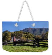 Old Farm House At Cades Cove Weekender Tote Bag