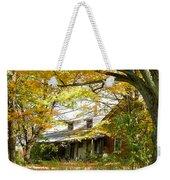 Old Farm House Behind Color Weekender Tote Bag