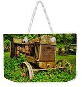 Old Farm Tractor Weekender Tote Bag