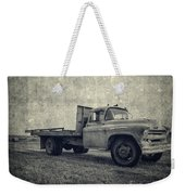 Old Farm Truck Cover Weekender Tote Bag