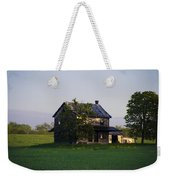 Old Farmhouse  Weekender Tote Bag