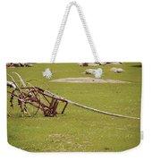 Old Farming Till Weekender Tote Bag