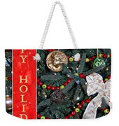 Old Fashioned Christmas Weekender Tote Bag by Carolyn Marshall