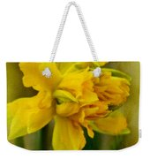 Old Fashioned Daffodil Weekender Tote Bag