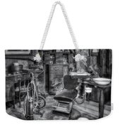Old Fashioned Dentist Office Bw Weekender Tote Bag