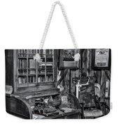 Old Fashioned Doctor's Office Bw Weekender Tote Bag