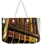 Old Fashioned Herbs And Spices Weekender Tote Bag