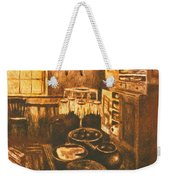 Old Fashioned Kitchen Again Weekender Tote Bag
