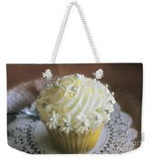 Old Fashioned Lemon Cupcake Weekender Tote Bag