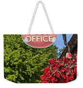 Old Fashioned Post Office Sign Weekender Tote Bag