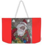 Old Fashioned Santa Weekender Tote Bag