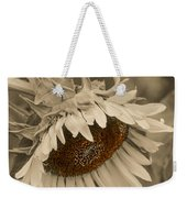 Old Fashioned Sunflower Weekender Tote Bag