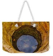 Old Fashioned Well Abstract Weekender Tote Bag