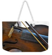 Old Fiddle And Bow Still Life 2 Weekender Tote Bag