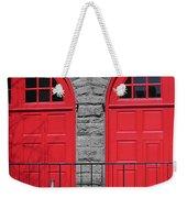 Old Fire Hall Doors Weekender Tote Bag