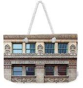 Old First National Bank - Building - Omaha Weekender Tote Bag
