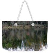 Old Fishing Hole Weekender Tote Bag