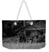 Old Fishing Shed Weekender Tote Bag