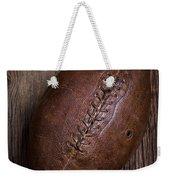 Old Football Weekender Tote Bag
