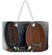 Old French Wine Casks Weekender Tote Bag