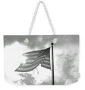 Old Glory Bw Weekender Tote Bag