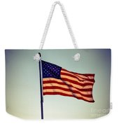 Old Glory Weekender Tote Bag