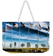 Old Glory-the American Flag Weekender Tote Bag