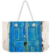 Old Greek Shutter Weekender Tote Bag