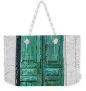 Old Green Door Weekender Tote Bag