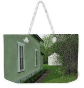 Old Green House Weekender Tote Bag