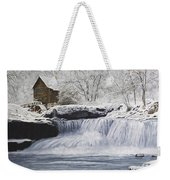 Old Grist Mill Weekender Tote Bag