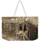 Old Grist Mill Photo Weekender Tote Bag