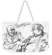 Old Guys  Weekender Tote Bag