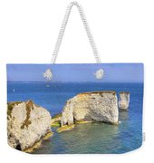 Old Harry Rocks - Purbeck Weekender Tote Bag