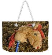 Old Hobby Horse Head Weekender Tote Bag