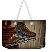 Old Hockey Skates Weekender Tote Bag by Paul Ward