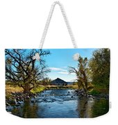 Old Homestead Along Hwy 16 Weekender Tote Bag
