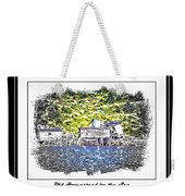 Old Homestead By The Sea Weekender Tote Bag by Barbara Griffin