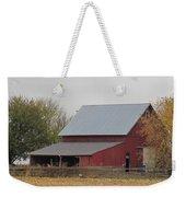 Old Horse Barn Weekender Tote Bag