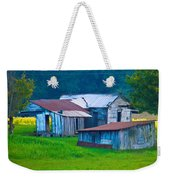 Old House And Harvest Time 2 Weekender Tote Bag