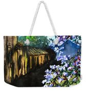 Old House And New Flowers Weekender Tote Bag