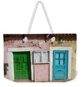 Old House Doors In Lisbon Weekender Tote Bag