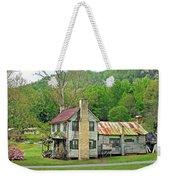 Old House In Penrose Nc Weekender Tote Bag