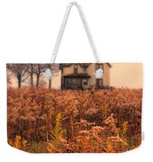 Old House In Weeds Weekender Tote Bag