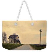 Old House On Country Road Weekender Tote Bag
