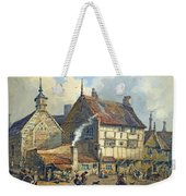 Old Houses And St Olaves Church Weekender Tote Bag