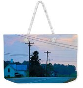 Old Houses And Sunset Weekender Tote Bag