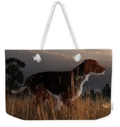 Old Hunting Dog Weekender Tote Bag